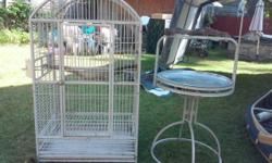 Selling a bird cage 6 feet tall Asking 300