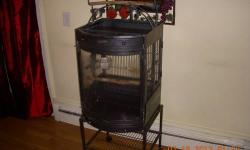 "I have a beautiful cage measured 43""x18"" for sale I'm asking 100 if interested call or tex 774-245-9542"
