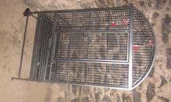 Bird Cage Clean Good Condition. Have Wheels to Cage. Thank you