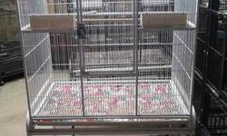 LOTS OF CAGES. CORNER MACAW CAGE. COSTS 1,375 asking 650.00 Macaw cage. Paid 600.00. Asking 250.00 Cage for conures, Parakeets, Cockatiels. Etc Costs 350.00. Asking 150.00 Big double cage for greys, or that size bird