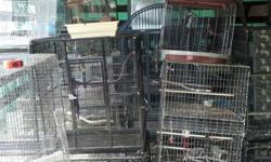 I have a lot if bird cages for sale some are breeder cages a some pet cages just moved and haven't had time to clean them up but feel free to make offers . I also have some nest boxes to.