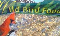 Attracts a broad range of wild birds. 3 pounds. Mixed cracked corn, sunflower seed, white proso, milo, whole wheat. Can deliver near Trolley or Bus line. Pick up yourself near Broadway and Park across from Salvation Army.. Shane