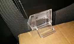 Canary Dishes Clear NEW never used .50 each or make offer on box 53 full set top and bottom extra bag of tops 920-452-7972