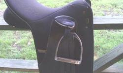 """Wintec Dressage Saddle, 17 inch, excellent condition, """"SPORT"""" version used very little. $350.00 OBO"""