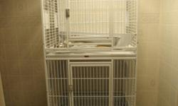 We have a four part cage for sale, gently used, good to breed cockatiels, greencheeks etc contact us at CountryBirdsAviary.com we also have a fb page, my cell is 832-277-4270 or call 812-277-4270 not far from Louisville