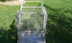 Hugh double stack bird cage each section 2ftx2ft and two pairs of breeding diamond doves and their babies all 45.$