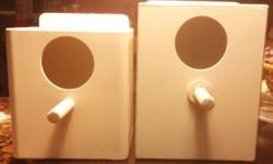 Nidos de PVC para finches 5 cada uno si ordena más de 20 También hago para periquitos ,lovebirs, cacatillos, african greys y más en.PVC o plywood Hago envíos, si está interesado contacteme 786 270 7671