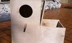 Nidos de PVC o plywood para todo tipo de aves Medidas y precios a convenir