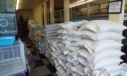 WE CARRY ALL TYPES OF SEED FOR BIRDS AND WE HAVE THE BEST PRICES BECAUSE WE BUY ALL OUR SEED IN BULK WE ALSO CARRY A LARGE SELECTION OF CAGES AND SUPPLIES FOR MORE INFO PLEASE CONTACT GEORGE OR MIMI AT (619)249-9831 THANK YOU
