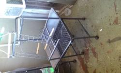 I have a parrot cage for Sal originally bought 150 selling it for 75 because it's been use but still have a long time before any thing beaks down call me for more information