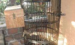 THEY ARE USED, NICE AND CLEAN, PRICE ARE FIRM. BIG IRON CAGE . $180.00 SMALL CAGE . $20.00