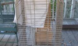 Hi! I have some very nice Cages. 1 Large parrot size, Extra Heavy Duty, another large , tall upright cage with stand, some nesting boxes, and some Beautiful Quakers listed on craigslist in Jacksonville Area. My zip is 32068, if you want to map it. Please,