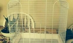 I have a pair of Fawn Zebra Finches and a large white fancy cage which was only used a couple weeks. It is almost new. $60. Would consider selling either or separately.